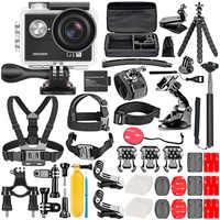 Neewer G1 Ultra HD 4K Kit de cámara de acción incluye 12MP 98 pies Cámara impermeable subacuática 170 grados gran angular WiFi deportes