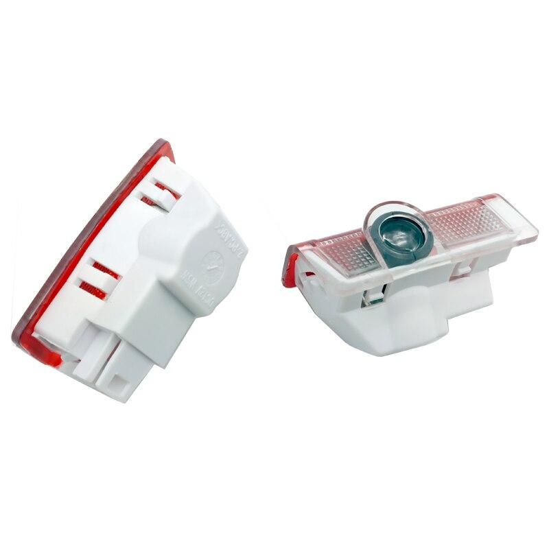 2 pcs Voiture LED Porte Lumière Laser Projecteur Pour AMG Logo Emblème Pour Mercedes Benz W205 W176 W212 W176 W246 w242 S212 X166 4 MATIC