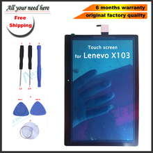 лучшая цена free shipping 10.1 inch touch panel glass screen For Lenovo Tab 3 10 Plus TB-X103F TB-X103 TB X103 Touch Screen with tools