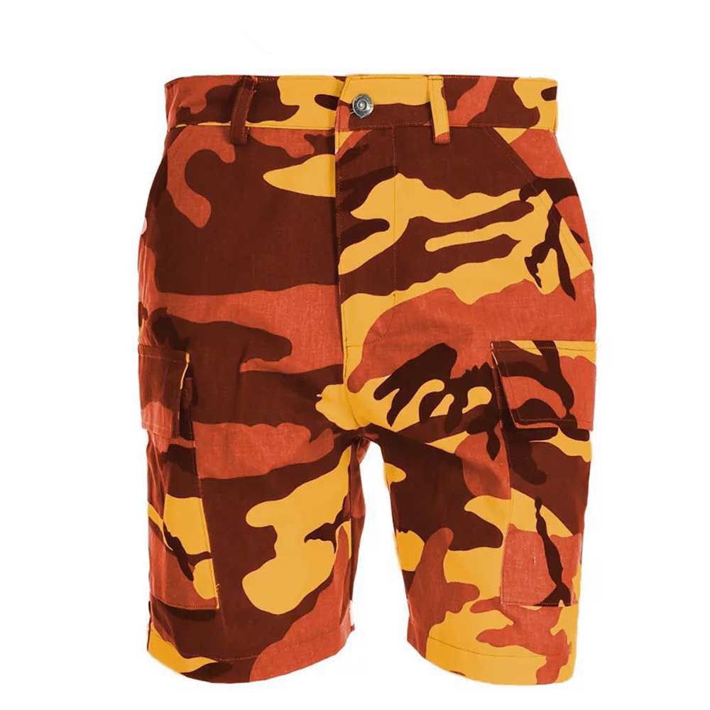 2018 New Camouflage Loose Cargo Shorts Women Summer Fashion Military Camo Short Pants Femme Feminino Pantalones Orange Gray ...
