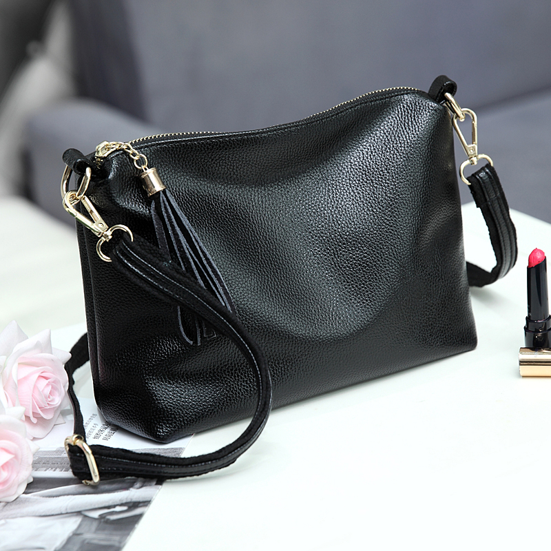CHISPAULO Brand Women Handbags Genuine Leather Bags For Women Messenger Bags Vintage Crossbody Bags Tassel Bolsa Femininas X59