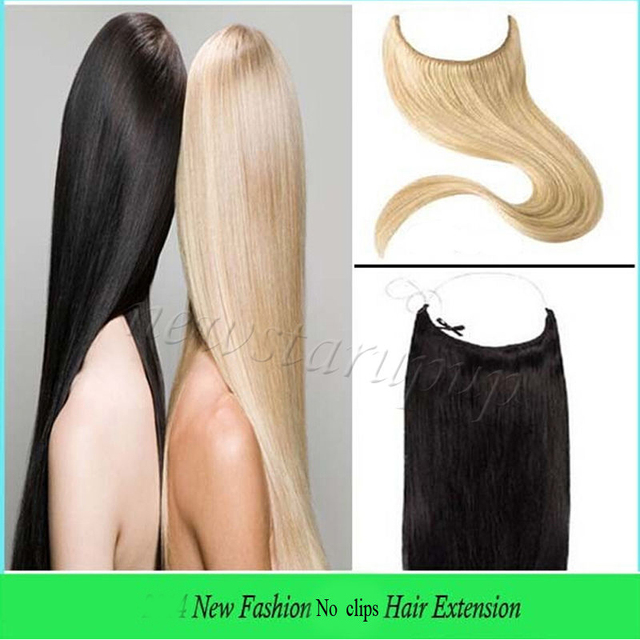 New Hot Sale Remy 100 Real Hair Invisible Wire Headband Hair