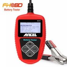 Ancel BA101 Analizador de Probador de La Batería Del Coche 12 V Digital 2000CCA 220AH con Japonés Corea Múltiples Idiomas MALA Celular Coche de Pruebas herramientas