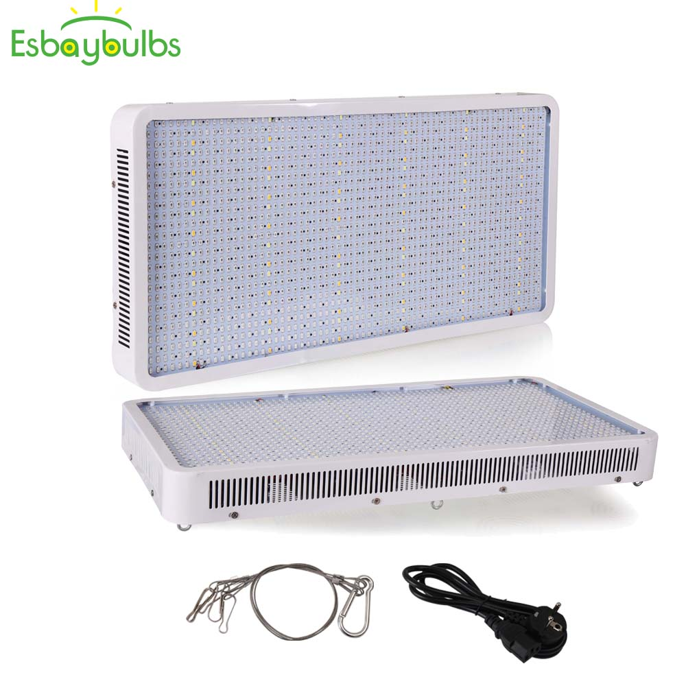 1600W LED Grow Lamp With Hanging And Plug Full Led Plant Grow Light For Greenhouse vegetables Medicinal plants Growing Blooming|LED Grow Lights|   - title=