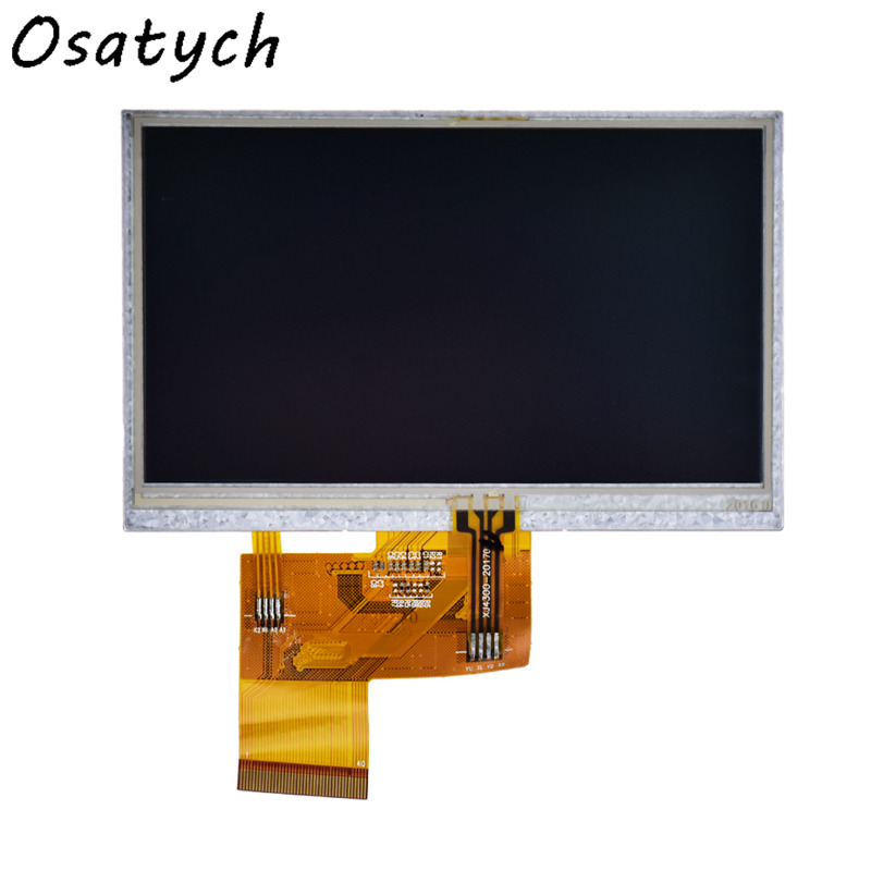 4.3inch for TIANMA TM043NDH02 480(RGB)*272 LCD Screen with Touch Screen <font><b>40</b></font> <font><b>pins</b></font> image