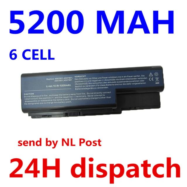 5200mAh Battery For Acer Aspire 5230 5235 5310 5315 5330 5520 5530 AS07B31 AS07B41 AS07B51 AS07B61 AS07B71 AS07B72 AS07B42