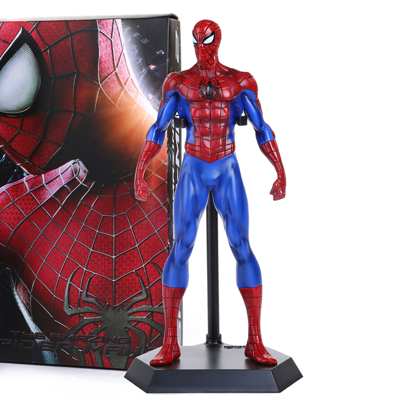 Crazy Toys Mavel The Amazing Spiderman PVC Action Figure Model Collection Toy 12