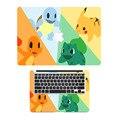"""Pockmon Гоу Семья Аниме Топ + Поворот клавиатуры Ноутбука Кожи для MacBook Air/Pro/Retina 11 """"13"""" 15 Полное Покрытие Ноутбук Этикета Стикер"""