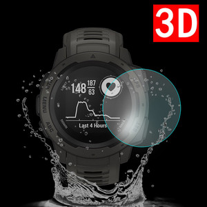 1-2Pcs  Clear Soft Hydrogel Film HD Screen Protector for Garmin Instinct Anti-scratch  Screen Protecters Dropship  Nov.5