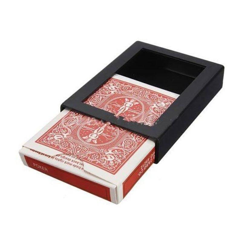 1X Deck Vanish исчезающий карты Крупным планом коробка для фокусов отделки