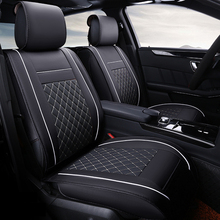 Spécial housses de siège de voiture En Cuir Pour Skoda Octavia 2 a7 a5 Fabia Superbe Rapide Yeti Spaceback Joyste accessoires car styling