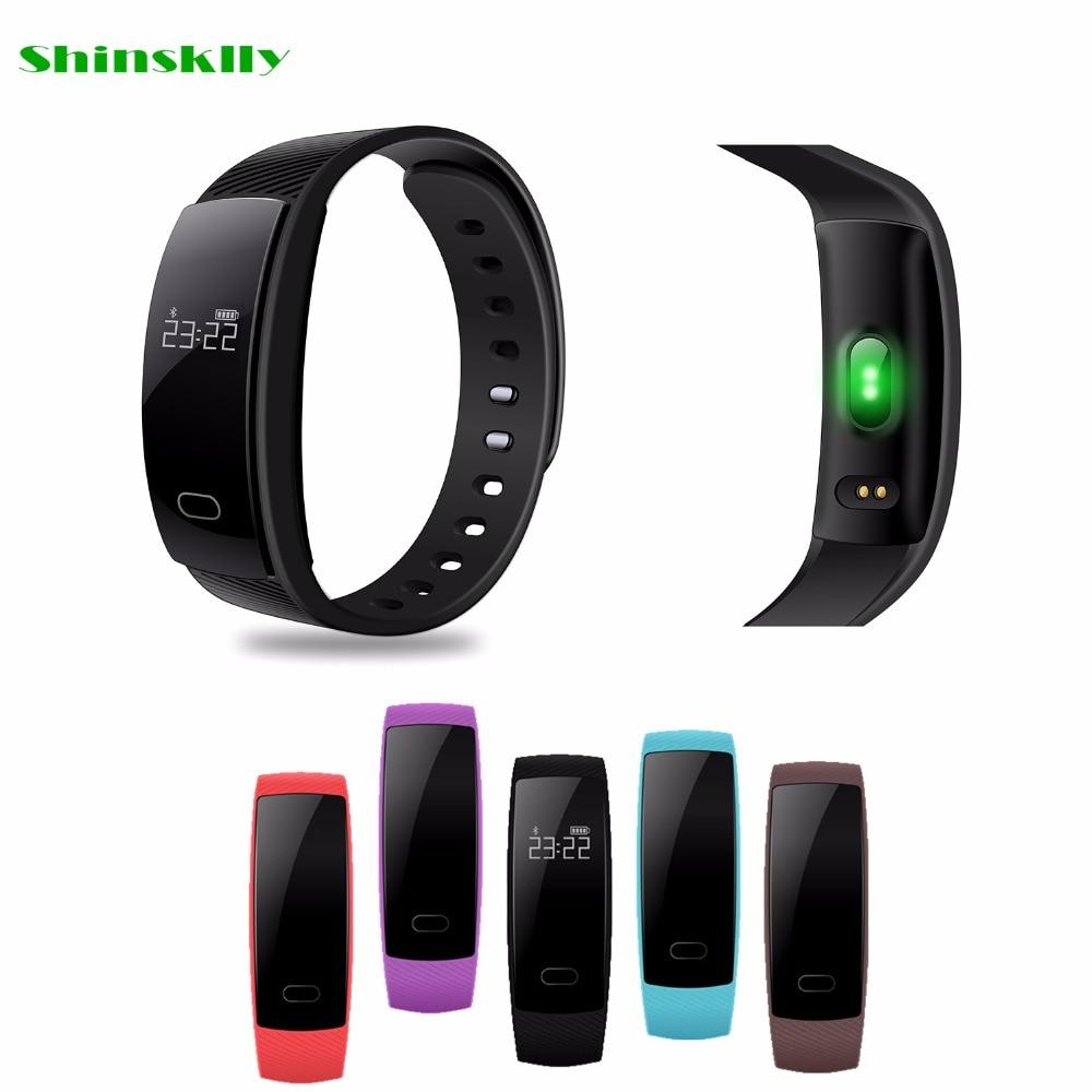 D'origine QS80 Smartband Sang Pression Bluetooth Smart Bracelet Moniteur de Fréquence Cardiaque Intelligent Bracelet de Remise En Forme pour Android IOS Téléphone