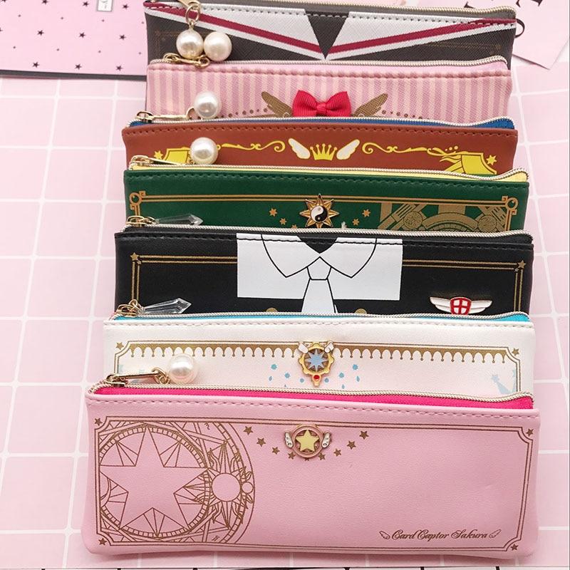 card captor cardcaptor sakura clear cards star key Pencil Case wallet collection wallet bag