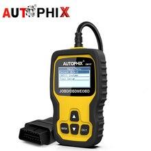 AUTOPHIX OM127 Obd2 автомобильной сканер JOBD для Toyota хода Nissan и т. д. японских автомобилей стереть код ошибки чтения диагностический сканирования