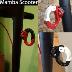 Elektrische Roller Teile Front Haken Aufhänger für Xiaomi M365 Helm Taschen Klaue Kind Roller Grip Griff Tasche für M365 Pro m365 Teile