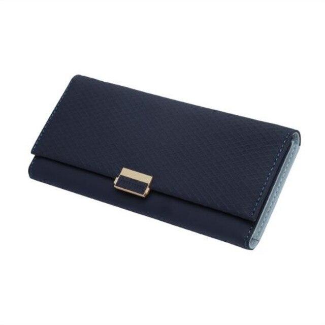 MaDonNo Women Long Wallet Lady Leather Wallet Clutch Handbag Checkbook Purse Tassel Purse Women Long Leather Wallet