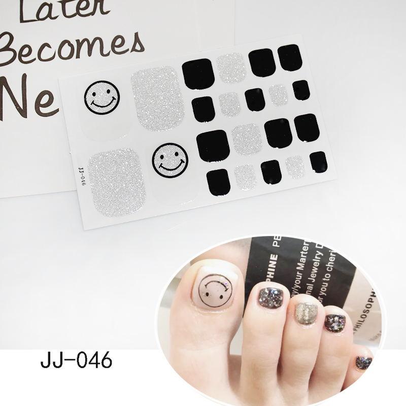 Easy Press On Gel Toe Nail