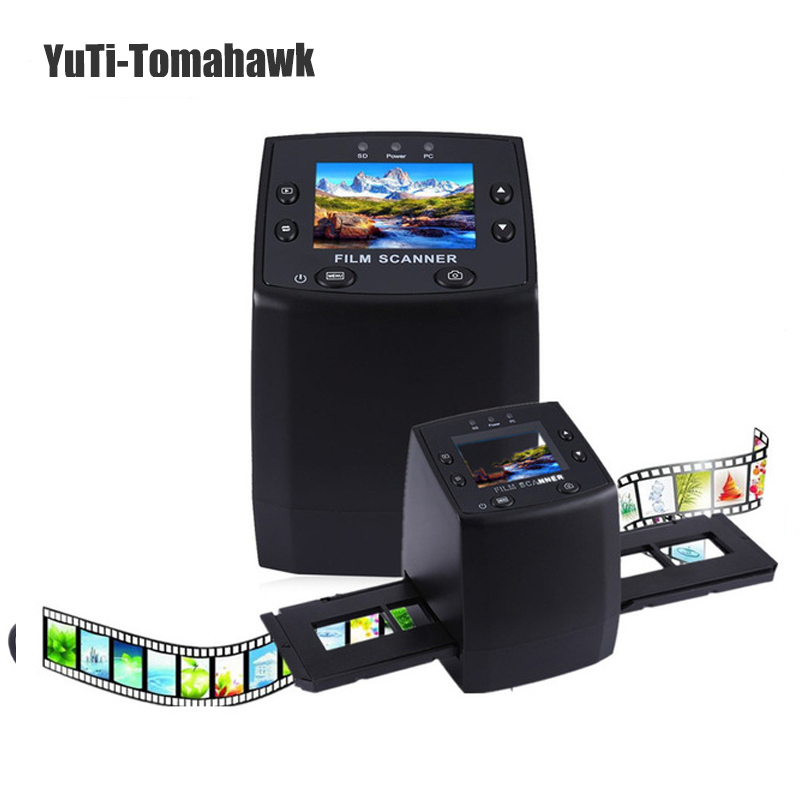 Professional 5MP 35mm Negative Film Slide Viewer Scanner USB 2.0 Digital Color Photo Copier TFT LCD Screen For Office Home