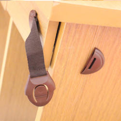 5 шт./лот новый коричневый Дверь шкафа Ящики Холодильник туалет замки безопасности для детей новая распродажа