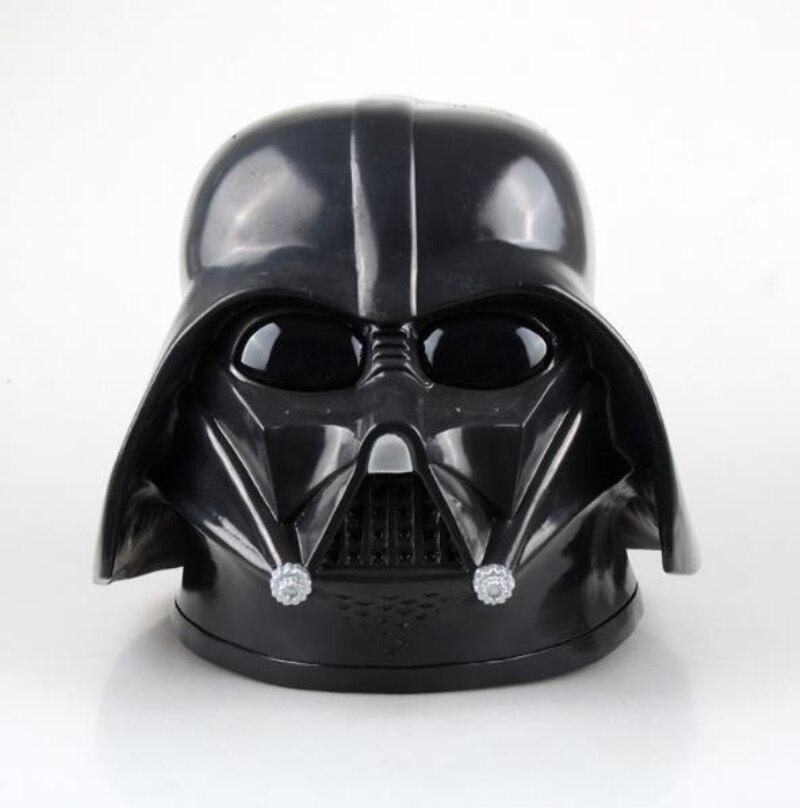 Star Wars Darth Vader Máscara Cosplay Máscara de PVC Preto Superhero Máscara Facial Capacete Acessórios Adereços de Halloween Dramatização Adulto Máscara