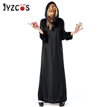 JYZCOS Witch Costume Castle Wizard Cosplay Halloween Costumes for Women Adult Masquerade