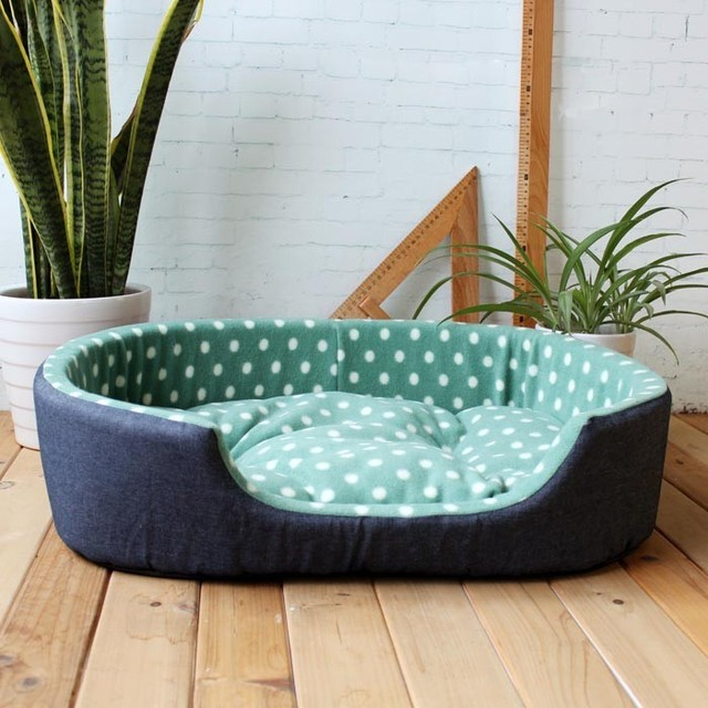 Hot Sell Seven Colors Fashion Xl Size Pet Beds Warm Kennel House Comfortable Cama Para Cachorro Mat High Quality Large Dog Bed