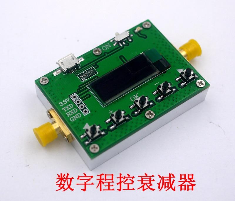 Atténuateur Programmable numérique 6G 30DB Stepper 0.25DB OLED CNC Module RF - 3