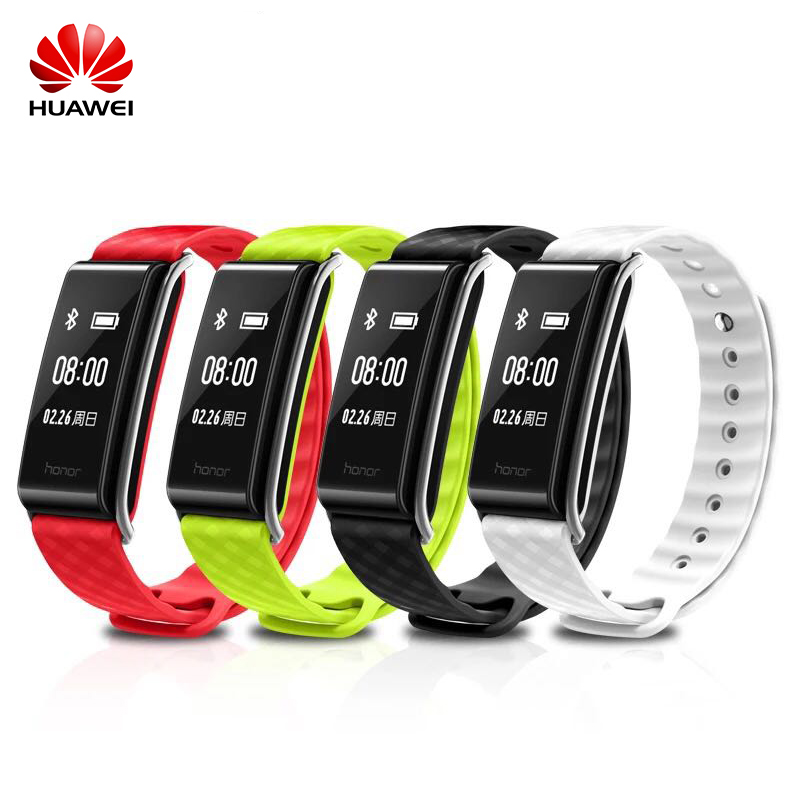 In Stock! Huawei Honor A2 Smart Wristband Sleep Heart Rate Monitor Bracelet Fitness Tracker IP67 Bluetooth OLED For Android iOS smart watches c5 smart bracelet dynamic heart rate monitor bluetooth wristband smart sports watch sleep tracker for ios android