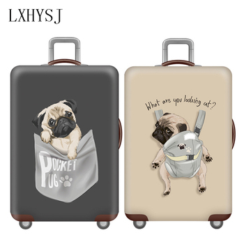 Elasticity Animal Pattern Luggage Protection Covers Luggage Cover Suitable For 18-32 Inch Suitcase Dust Cover Travel Accessories