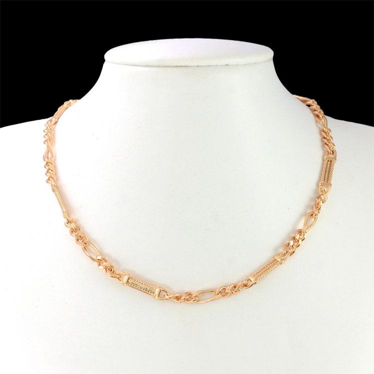 34cm Baby Necklace Boy Gold Chain Kids Jewelry Collar Bijoux Collier