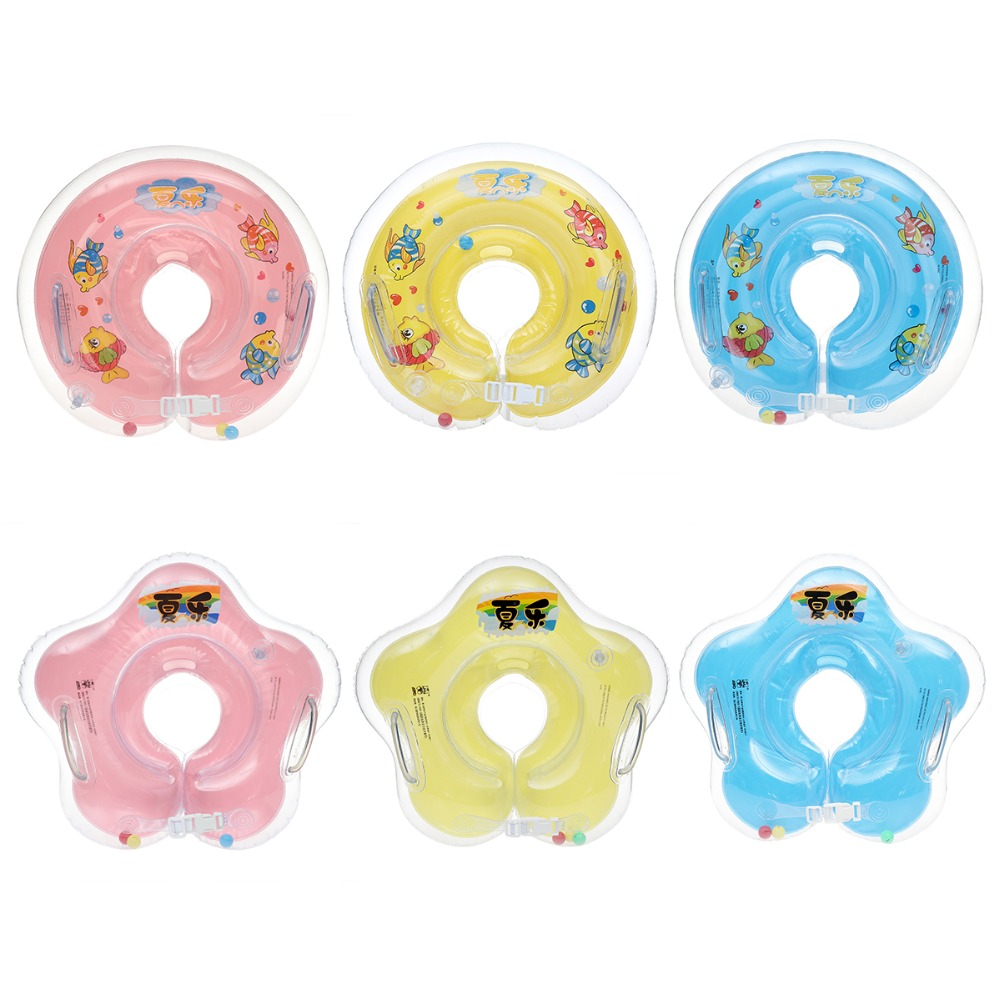 1Pc New Swimming Baby Accessories Swim Neck Ring Baby Tube Ring Safety Infant Neck Float ...