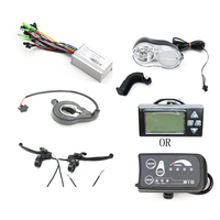 Аксессуары для электровелосипедов комплект с В 36 в контроллер для электрического велосипеда газовая ручка тормозной рычаг фары дисплей Ак