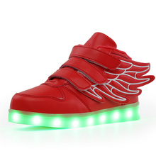 Children Shoes With Light 2019 New Toddler Fashion Led Kids Shoes Luminous Glowing Sneakers Flowers Baby Toddler Girls LED Shoes 2017 new fashion children shoes with light led kids shoes luminous glowing sneakers baby toddler boys girls shoes led eu 21 25