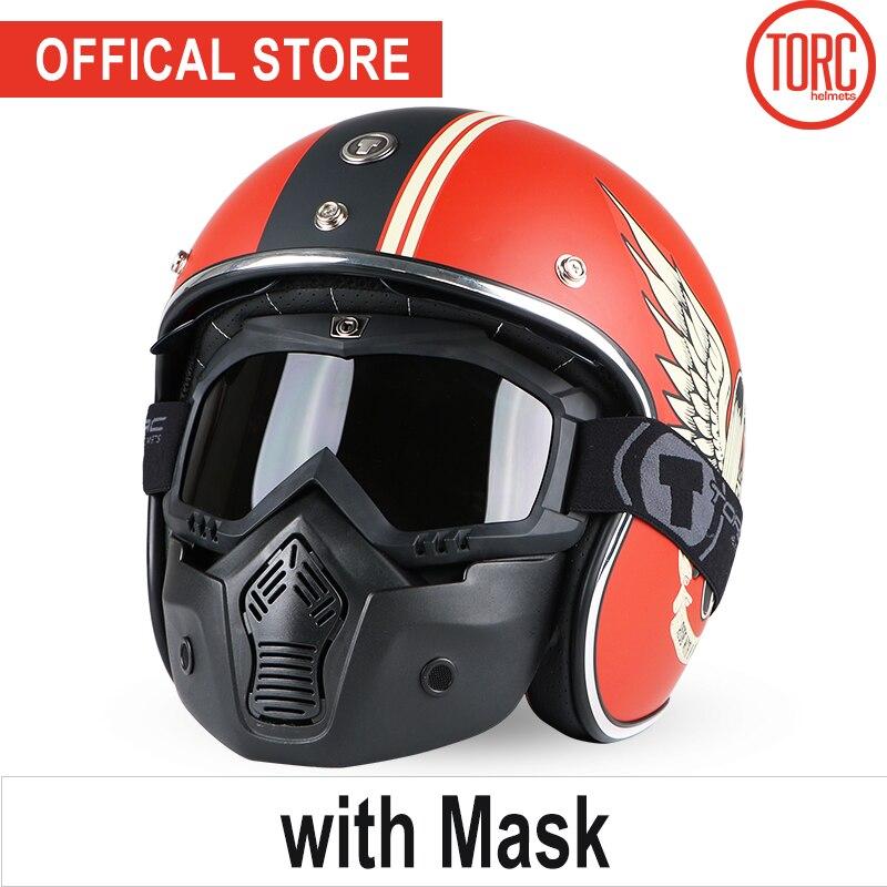 Bluetooth motorcycle vespa helmet vintage open face 3/4 helmet inner visor motocross jet retro capacete casque moto helmet T57