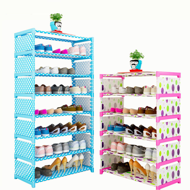 Simple Dustproof Shoe Shelf 3/4/6 Layers Assembly Shoe Rack Storage Shelf Shoe Cabinet Home Dormitory Shoe RackSimple Dustproof Shoe Shelf 3/4/6 Layers Assembly Shoe Rack Storage Shelf Shoe Cabinet Home Dormitory Shoe Rack