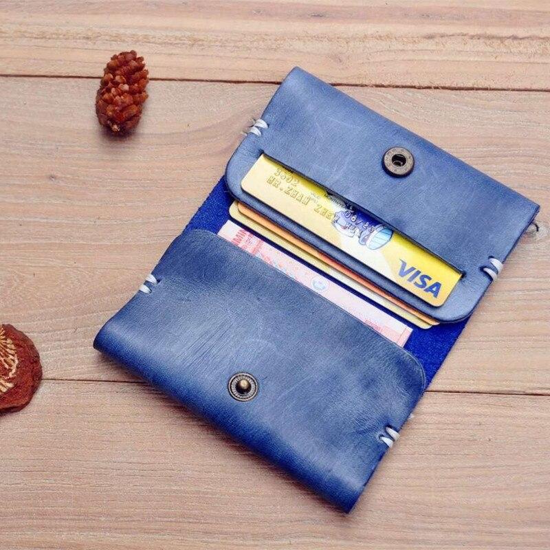 Naiste nahast rahakotid 5 värvi mini krediitkaardi omanik Väike rahakott kõrge kvaliteediga rahakott naised 2017 uued saabumised naissoost rahakotid