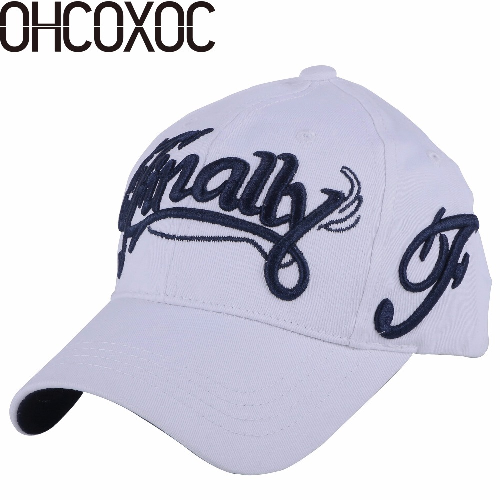 100% cot women men fashion new baseball cap hat embroidery letter Best  quality fuchsia white black navy casual caps