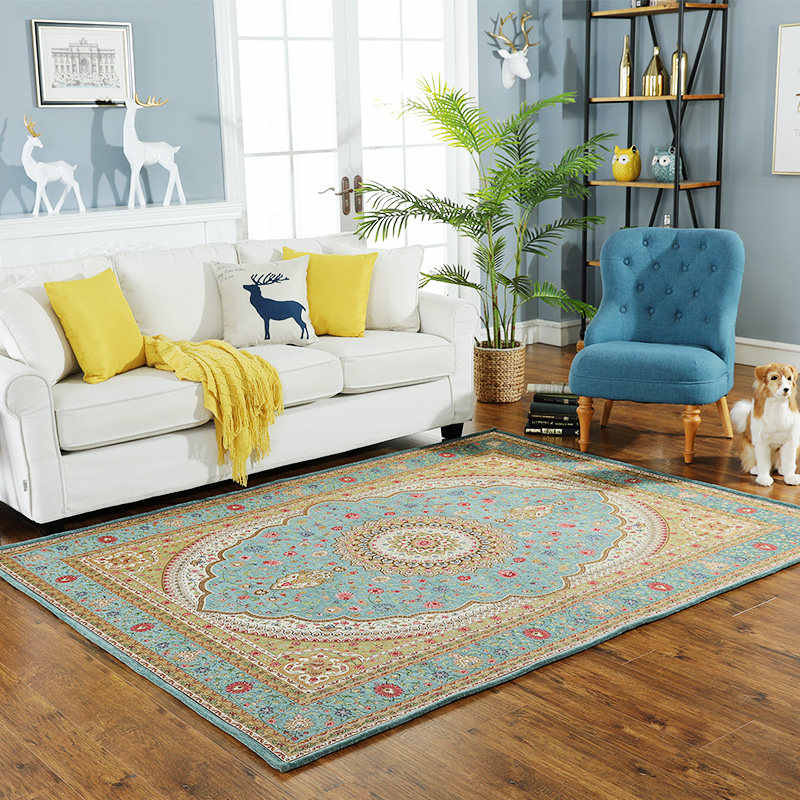 Современный коврик в европейском стиле, гостиная, домашняя спальня, персидский ковер Диванный кофейный столик, коврик для пола, кабинет, прямоугольные коврики и ковры