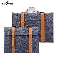 Woolen Felt Laptop Cover Case Notebook Sleeve Bag Pouch For Apple Macbook Pro Air 11 13