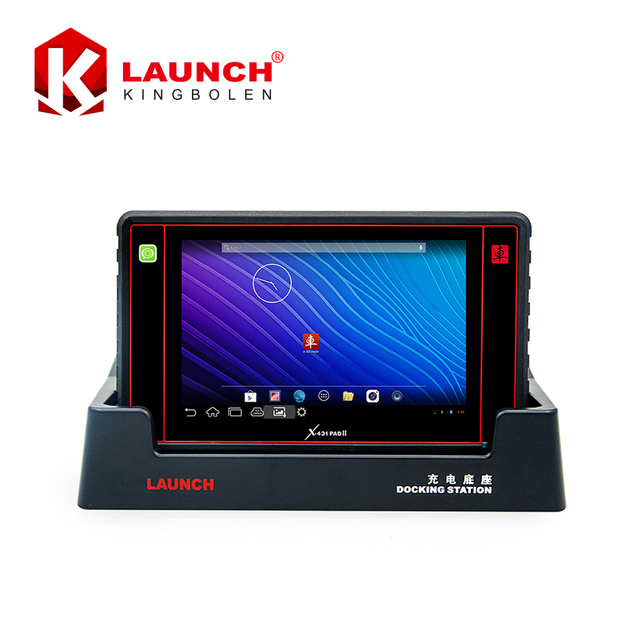 Original Launch X431 PAD II WiFi Update By Offical Website for 2 years Universal Diagnostic Scanner X-431 PAD 2