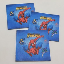 Spiderman Paper Napkins 20 pcs/lot
