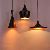 3PCS Set Modern LED Pendant Lamp E27 Base Edison Bulb Home Lighting Fixture Art Deco Designer