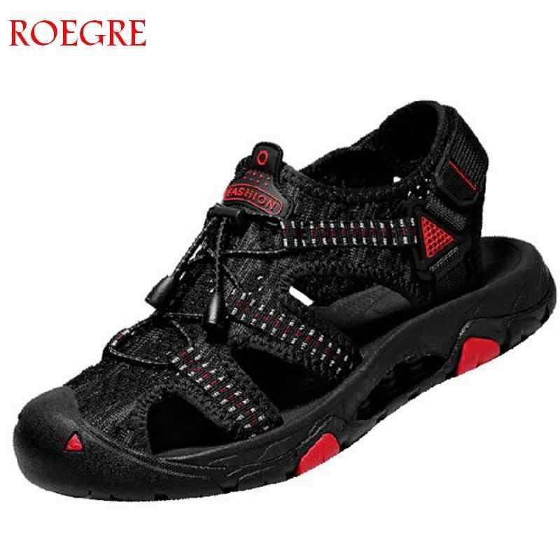 2019 Новая мужская обувь; роскошные мужские летние туфли высокого качества; пляжные сандалии; мужские модные уличные повседневные кроссовки; размер 46