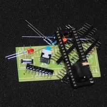 51 Microcontroller DIY KIT STC89C52 AT89S52 Microcomputer MINI System Board MCU Development Board Trousse Electronic Suite Modul