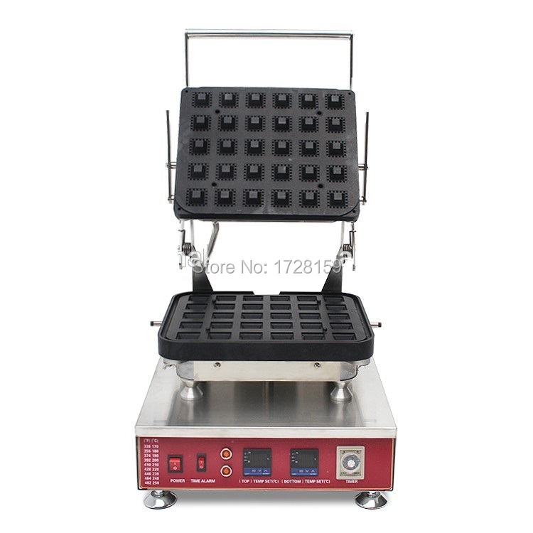 Hot sale 30pcs commerical egg tart shell maker machine, tartlet maker machine, new choice for your food business table top press and bake tartlet machine for the production of tart shells