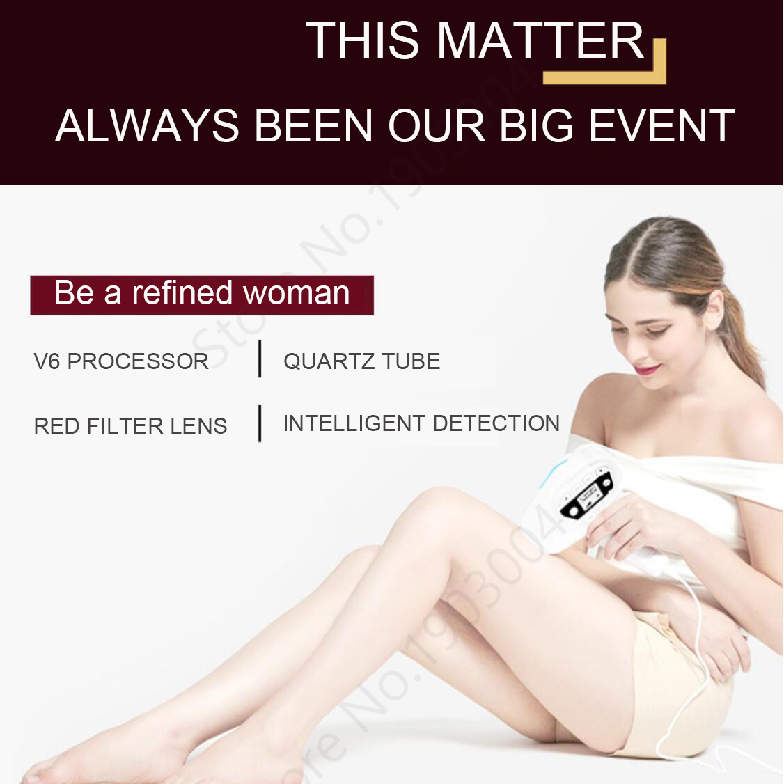 Image 5 - 5 in 1 IPL Hair Removal ICE Cold Epilator Permanent Laser for Home Bikini Trimmer Electric Depilador Female razor 1500000-in Epilators from Home Appliances
