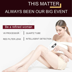 Image 5 - 5 in 1 IPL Hair Removal ICE Cold Epilator Permanent Laser for Home Bikini Trimmer Electric Depilador Female razor 1500000