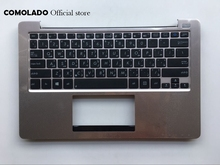 купить AR Arabic Keyboard for ASUS VivoBook S200E S200 X202 X202E With C cover Laptop keyboard AR Layout онлайн