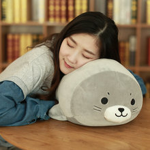 Sea World Stuffed Animal Sea Lion Doll Seal Plush Toys Baby Kids Appease sleeping pillow Girls Children Birthday Christmas Gift(China)