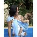 Nuevo Verano Del Bebé Portador de la Honda Estirable bandolera de Anillas Bebé Transpirable bebé Canguro Carrier Frente Carry Cuna Bolsa de Secado rápido